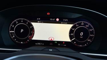 Volkswagen Arteon 1.5 petrol TSI dash board