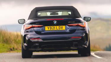 BMW M440i Convertible - rear cornering