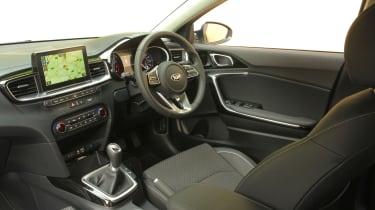 Kia Ceed 1.6 CRDi iMT - cabin