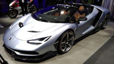 Lamborghini Centenario - Paris front