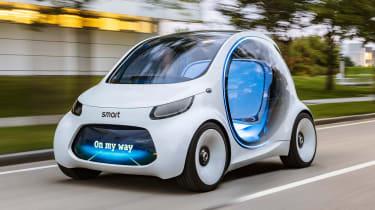 Smart Vision EQ ForFour concept - front