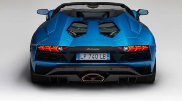 Lamborghini Aventador S Roadster - back