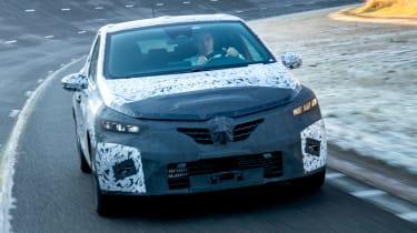 Renault Clio prototype - front