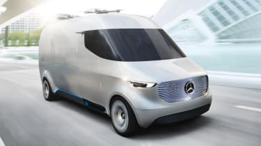 Mercedes Vision Van - official front tracking 2