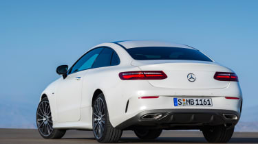Mercedes E-Class Coupe - AMG Line rear quarter
