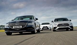 Genesis G80 vs Mercedes E-Class vs Lexus ES