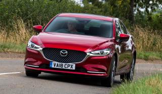 Mazda 6 - front cornering