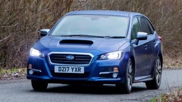 Subaru Levorg - front cornering