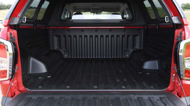 SsangYong Musso long term review - boot