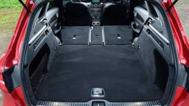 Mercedes GLC - boot seats down