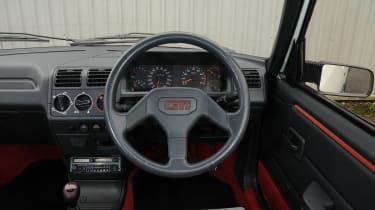 Appreciators: Peugeot 205 GTI interior