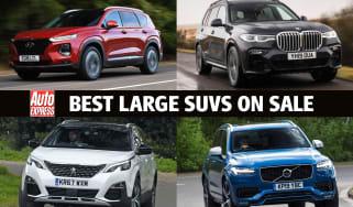 Best large SUVs - header