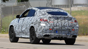Mercedes GLE - spyshot 9
