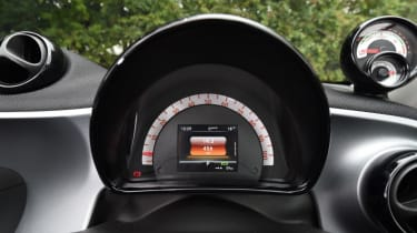 Smart ForFour ED - dash
