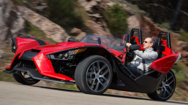 Polaris Slingshot - front three quarter