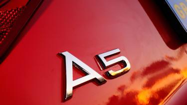 Audi A5 3.0 TDI Coupe badge