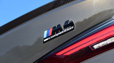 BMW M4 Competition - M4 badge