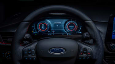 Ford Fiesta facelift - instruments