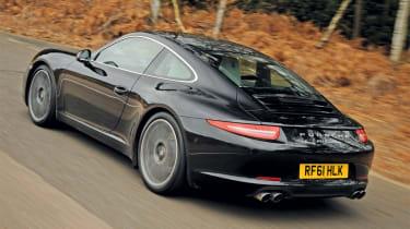 Porsche 911 Carrera rear tracking