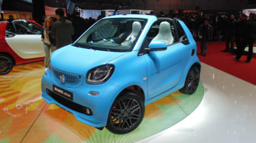 Smart Fortwo Brabus Geneva - front three quarter