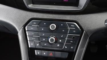 MG GS SUV 2016 - dashboard