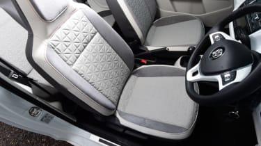 Volkswagen up! - long termer second report cabin