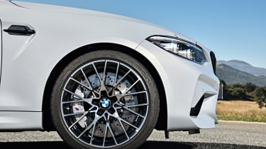 BMW M2 Competition - front profile