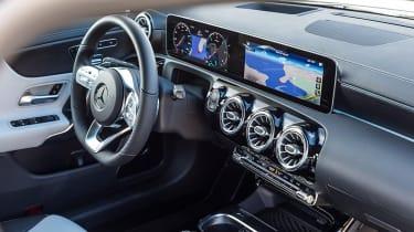 Mercedes CLA - interior