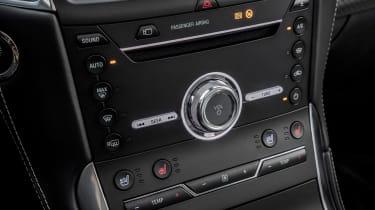 Ford Edge - centre console