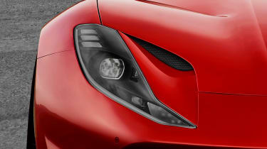 Ferrari 812 Superfast details headlights