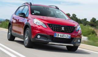 Peugeot 2008 - front action