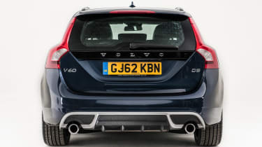 Used Volvo V60 - full rear