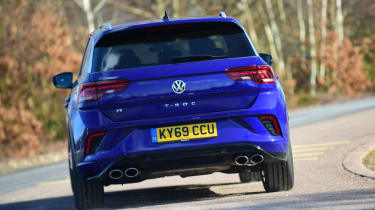 Volkswagen T-Roc R - rear cornering