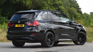 BMW X5 - rear static