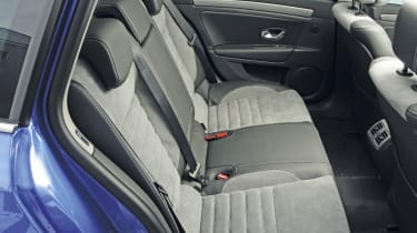 Renault Laguna rear seats