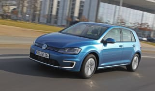 Volkswagen e-Golf 2014 right front