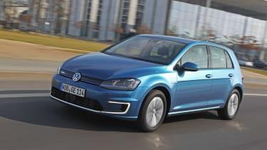 Volkswagen e-Golf 2014 right front