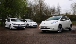 Nissan Leaf vs. rivals header