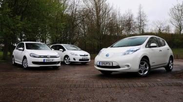 Nissan Leaf vs. rivals header
