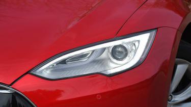 Tesla Model S long-term final report - front light