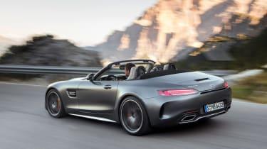 Mercedes-AMG GT C Roadster - grey rear cornering