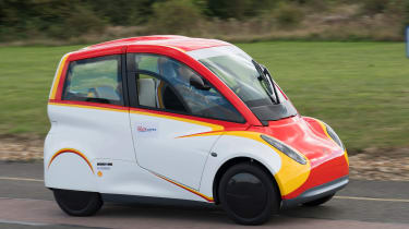 Shell Project M city car - front cornering 4