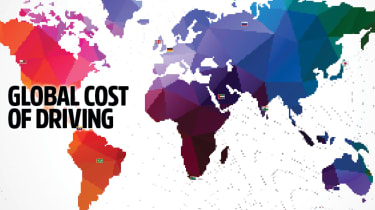 Global cost of driving