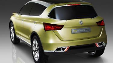Suzuki S-Cross rear