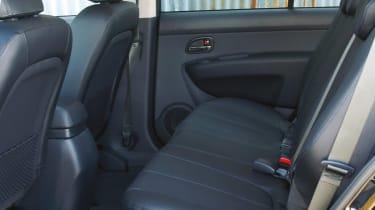 Kia Carens mpv rear seats