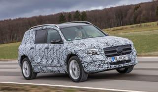 Mercedes GLB prototype - front