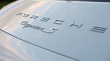 Porsche Cayman badge