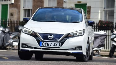 Nissan Leaf - front action