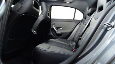 mercedes-amg a 35 rear seats