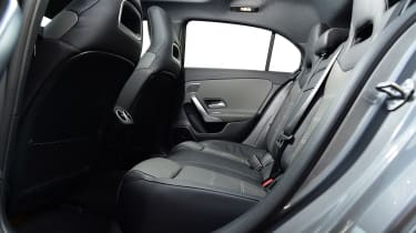 mercedes-amg a 35 rear seats